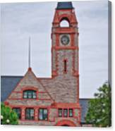 Union Pacific Railroad Depot Cheyenne Wyoming 01 Canvas Print