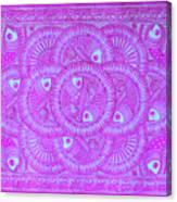 Union Purple Canvas Print