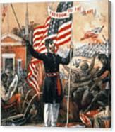 Union Recruitment, C1864 Canvas Print