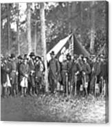 Union Soldiers Canvas Print