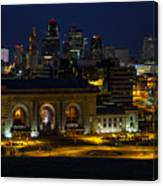 Union Station At Night Canvas Print