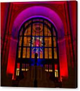 Union Station Decked Out For The Holidays Canvas Print