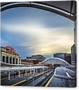 Union Station Denver - Slow Sunset Canvas Print