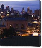 Union Station Kansas City Canvas Print