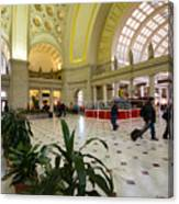 Union Station Main Hall And Waiting Room Canvas Print