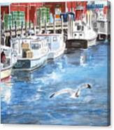 Union Wharf Canvas Print
