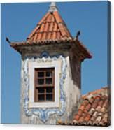 Unique Architecture At Sintra In Portugal Canvas Print