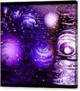 Unique Bubbles Canvas Print