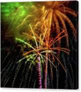 Unique Fireworks Canvas Print