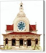 Unitarian Church - F.furness Canvas Print