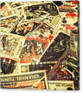 United Kingdom Proof Of Post Canvas Print