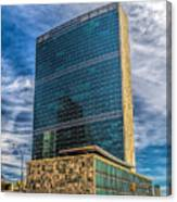 United Nations Headquarters Canvas Print