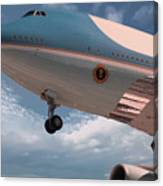 United States Air Force One Canvas Print