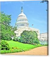 United States Capitol - Washington Dc Canvas Print