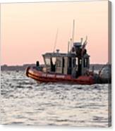 United States Coast Guard Heading Out Canvas Print