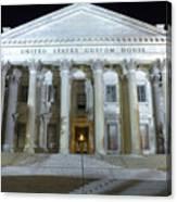 United States Custom House Canvas Print