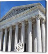 United States Supreme Court Building Canvas Print