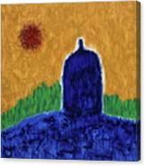 Unititled. Stupa Canvas Print