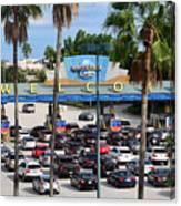 Universal Florida Parking Entrance Canvas Print