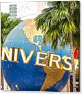 Universal Studio Globe Canvas Print