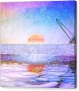 Universal Sunset Canvas Print
