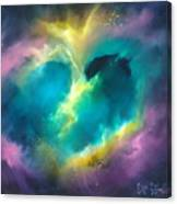 Universe Of The Heart Canvas Print