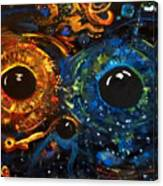 Universe Watching Canvas Print