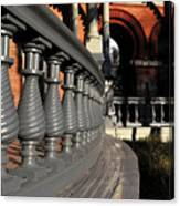 University Balustrades Canvas Print