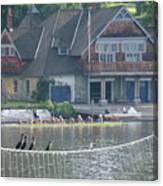 University Barge Club - Philadelphia  Canvas Print