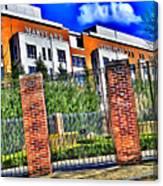 University Of Maryland - Byrd Stadium Canvas Print