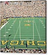 University Of Michigan Stadium, Ann Canvas Print