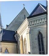 University Of Notre Dame Basilica  Canvas Print