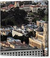 University Of San Francisco Aerial Photo Canvas Print