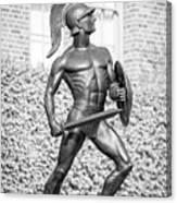 University Of Southern California Tommy Trojan Statue Canvas Print
