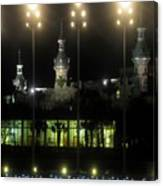 University Of Tampa Lights Canvas Print