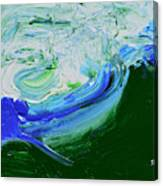Unrestful Sea Canvas Print