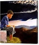 Unscarred Mountain Canvas Print