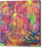 Unseen Angels Everywhere Canvas Print