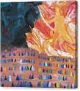 Unseen Battle Canvas Print
