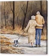 Unspoken Love Canvas Print