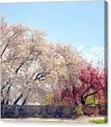 Untermyer Park Views Canvas Print