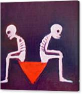 Until Death Do Us Part Canvas Print
