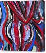 Bailando-01 Canvas Print