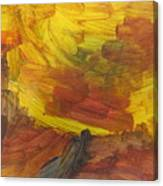 Untitled 117 Original Painting Canvas Print
