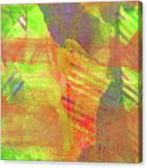 Untitled #13 Abstract Multicolor Canvas Print
