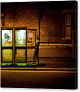 Untitled 2, Darkness Canvas Print