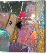 Untitled Abstract Prism Plates II Canvas Print
