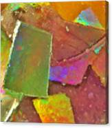 Untitled Abstract Prism Plates IIi Canvas Print