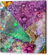 Untitled Abstract Prism Plates V Canvas Print
