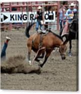 Bronco Rider Four Canvas Print